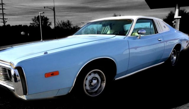 1973 Dodge Charger Se Brougham Strong 318 Auto Bucket