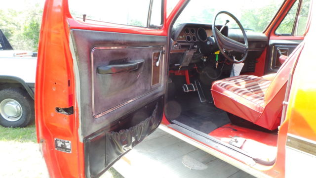 1973 Dodge D 200 Club Cab Se Time Capsule With Factory