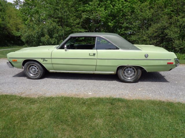 1973 dodge dart swinger built 360 v8 good frame drives good mopar a body duster for sale dodge. Black Bedroom Furniture Sets. Home Design Ideas