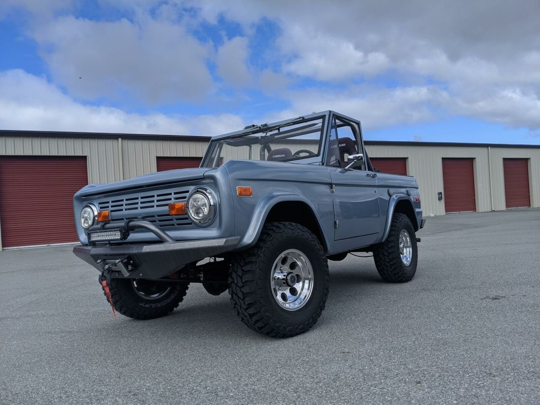 1973 Ford Bronco 0 Miles Silver Ford 302 Manual For Sale Ford Bronco 1973 For Sale In Boise Idaho United States