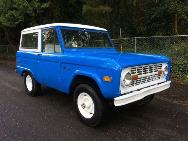 bronco 1966 a 1977 engine