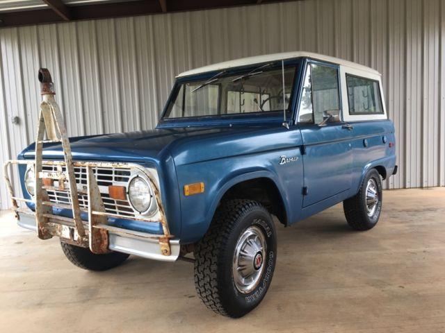 1973 ford bronco u15 survivor for sale ford bronco 1973 for sale in lufkin texas united states