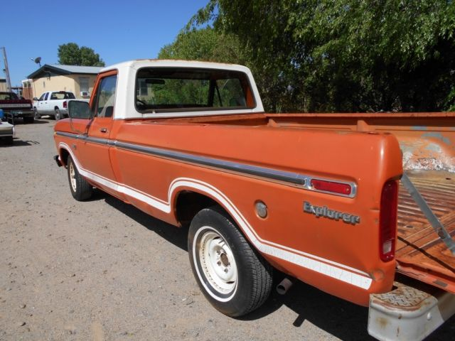 1973 ford f100 a new mexico truck for sale ford f 100. Black Bedroom Furniture Sets. Home Design Ideas