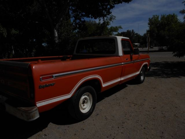 1973 ford f100 a new mexico truck for sale ford f 100 explorer custom 1973 for sale in. Black Bedroom Furniture Sets. Home Design Ideas