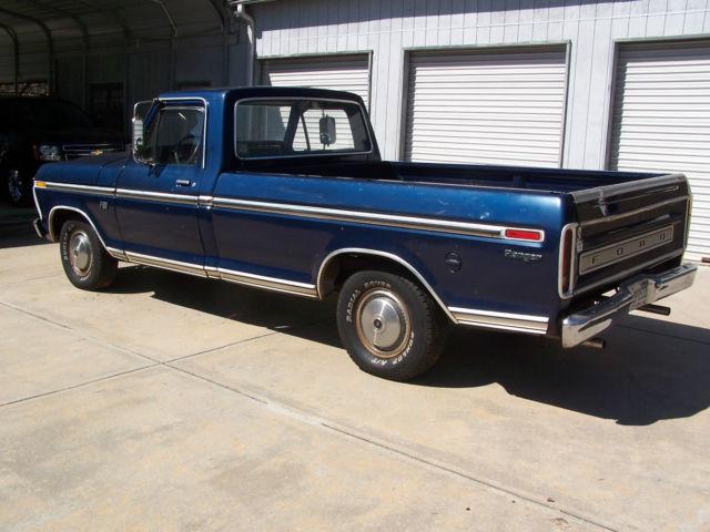 1973 ford f100 ranger long bed pickup by original owner all original only 89k for sale ford f. Black Bedroom Furniture Sets. Home Design Ideas