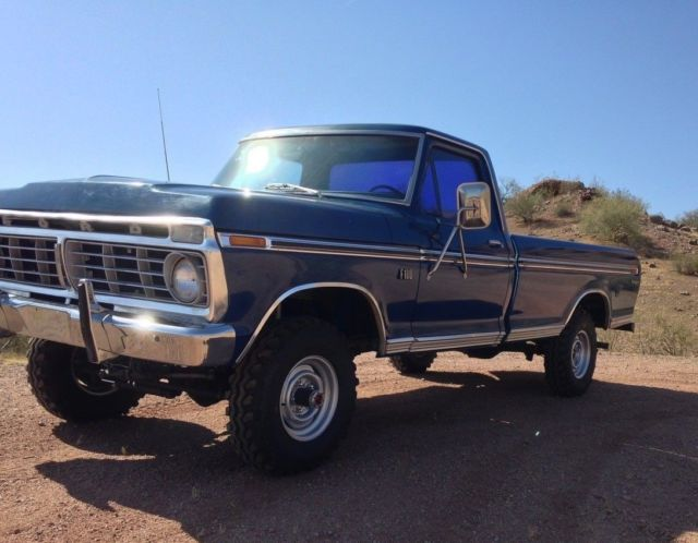 1973 ford f100 ranger xlt 4x4 zero rust for sale ford f 100 xlt 1973 for sale in san