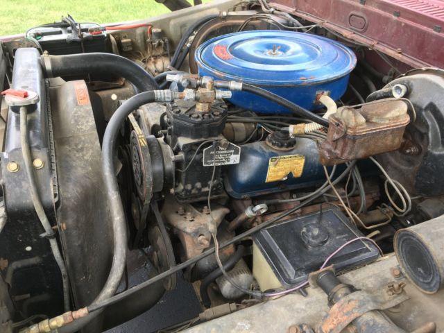1973 Ford F100 Ranger Xlt Shortbed Big Block In Dash Ac