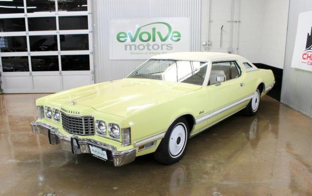 1973 Ford Thunderbird 45k Yellow 460cid For Sale Ford