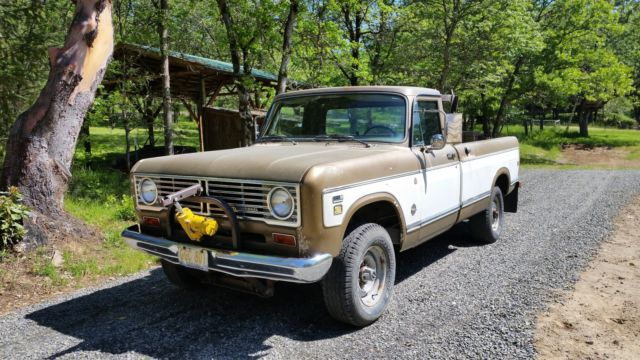 1973 International Harvester 1210 pickup 3/4 ton 4x4 Ac for sale