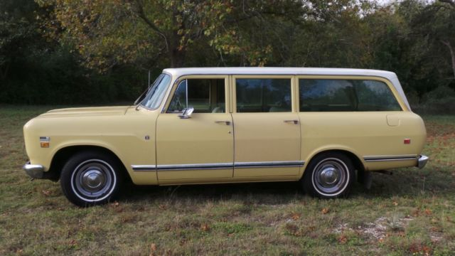 1973 INTERNATIONAL TRAVELALL TIME CAPSULE SURVIVOR, SCOUT