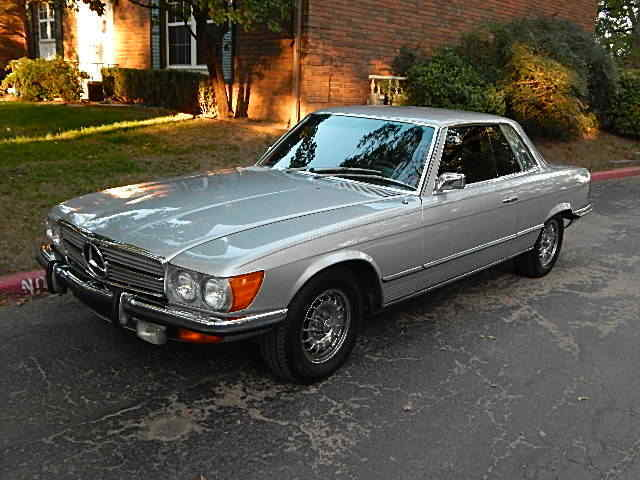 1973 mercedes benz 450 slc well kept maintained clean. Black Bedroom Furniture Sets. Home Design Ideas