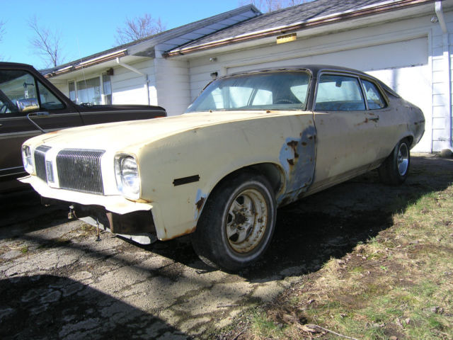 1973 oldsmobile omega low miles needs restored straight 6. Black Bedroom Furniture Sets. Home Design Ideas