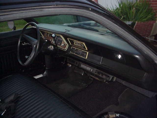 1973 Plymouth Duster 318 5 2L V8 Beautiful Driver Mopar A Body Black