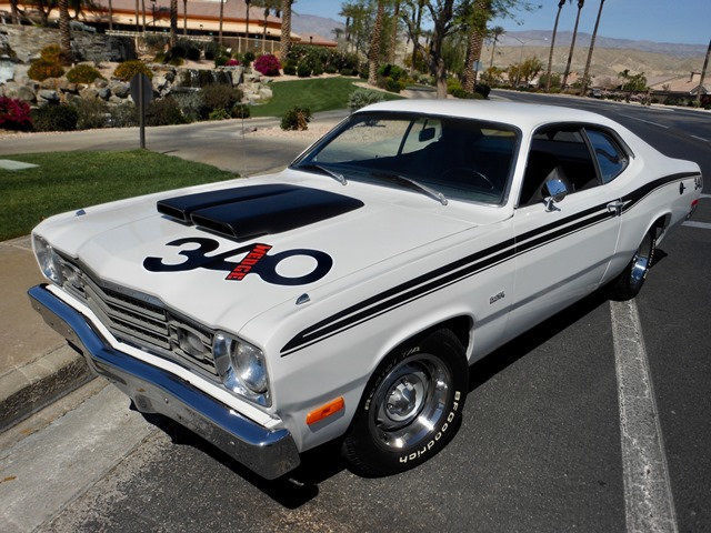 1973 plymouth duster california titled factory 340 4 speed selling no reserve for sale. Black Bedroom Furniture Sets. Home Design Ideas