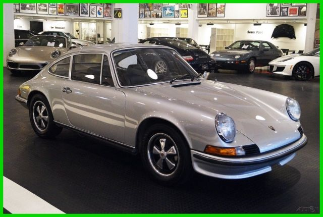 1973 Porsche 911s Factory Sunroof Sport Seats Loads Of