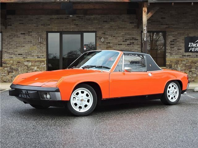 1973 porsche 914 phoenix red 2 2l restored no rust for sale porsche 914 1973 for sale in