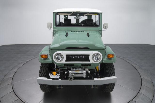 Toyota Land Cruiser Fj Miles Nebula Green Suv Liter Inline S on Jeep Inline 6 Engine Upgrades
