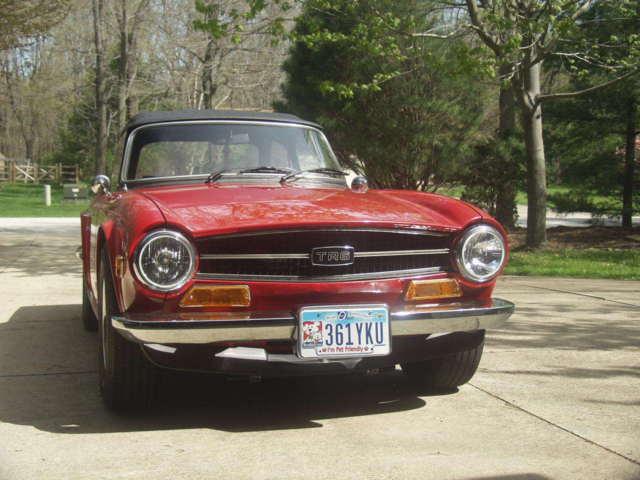 1973 Triumph Tr6 Convertible Fuel Injected For Sale Triumph Tr 6