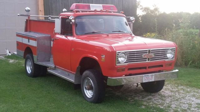 1973 vintage international pierce fire truck for sale international harvester other 1973 for. Black Bedroom Furniture Sets. Home Design Ideas