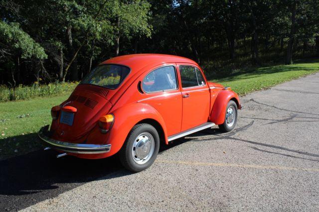 1973 volkswagen super beetle 1600 cc automatic stick shift one owner for sale volkswagen. Black Bedroom Furniture Sets. Home Design Ideas