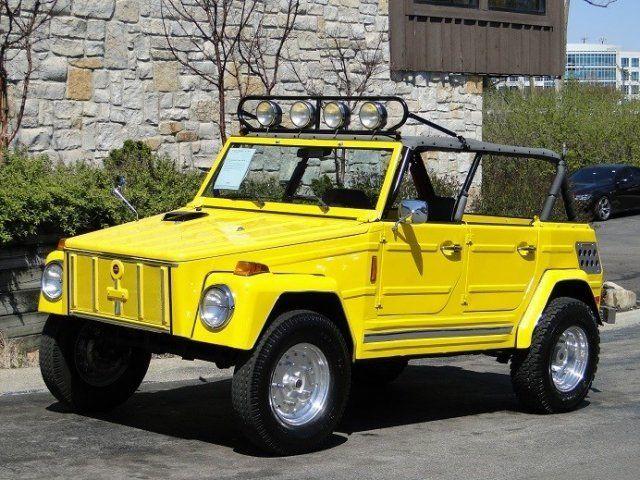 1973 Volkswagen Thing Custom Suv For Sale Volkswagen