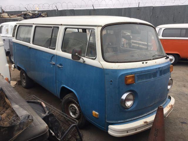 1973 Volkswagen Vw Original Condition No Engine Or Trans