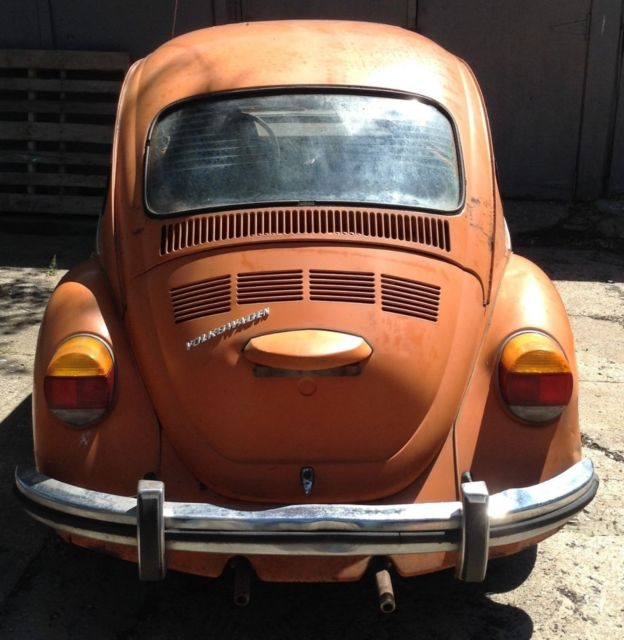 Vw 1600 Beetle For Sale: 1973 VW Super Beetle W/sunroof For Sale