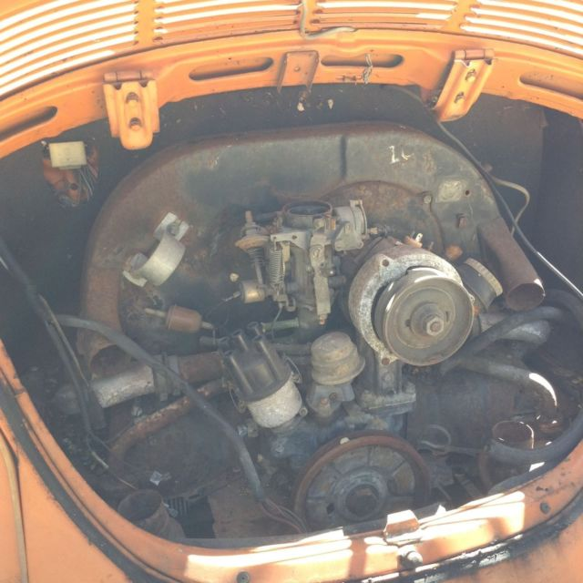 Classic Vw Beetle Engine Upgrades: 1973 VW Super Beetle W/sunroof For Sale