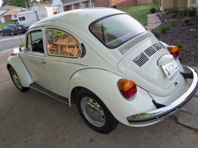 1973 VW Super Bettle-Pearl white for sale - Volkswagen Beetle - Classic Coupe Sedan 1973 for ...