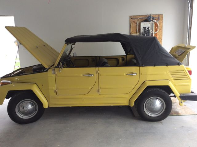 1973 VW Thing 181 ORIGINAL PAINT for sale - Volkswagen Thing