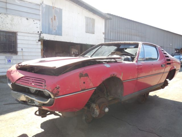 1974 alfa romeo montreal coupe project car for restoration for sale alfa romeo montreal. Black Bedroom Furniture Sets. Home Design Ideas