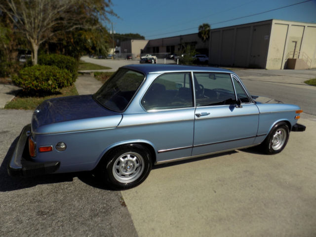 1974 Bmw 2002 Tii Only 67 K Miles Restored To Pristine Cond Showroom New For Sale Bmw 2