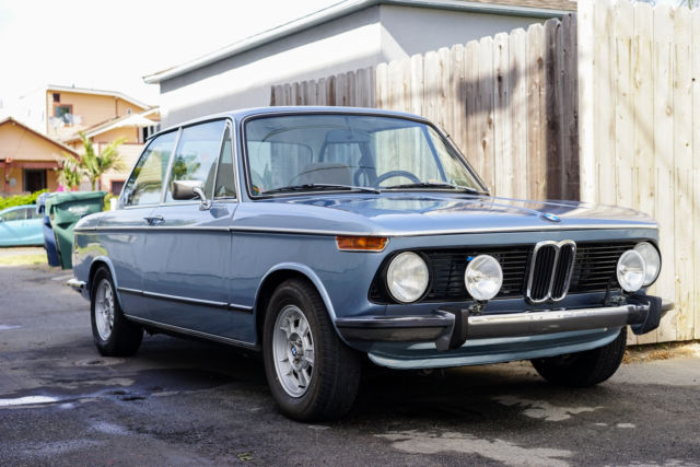 1974 bmw 2002tii 5 speed for sale bmw 2002 1974 for sale. Black Bedroom Furniture Sets. Home Design Ideas