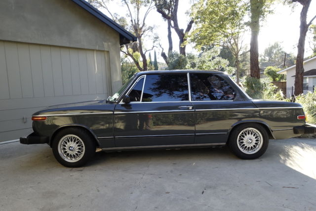 1974 bmw 2002tii base 2 0l with sunroof for sale bmw. Black Bedroom Furniture Sets. Home Design Ideas