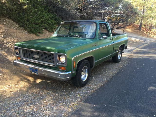 1974 c10 truck for sale chevrolet c 10 1974 for sale in auburn california united states. Black Bedroom Furniture Sets. Home Design Ideas