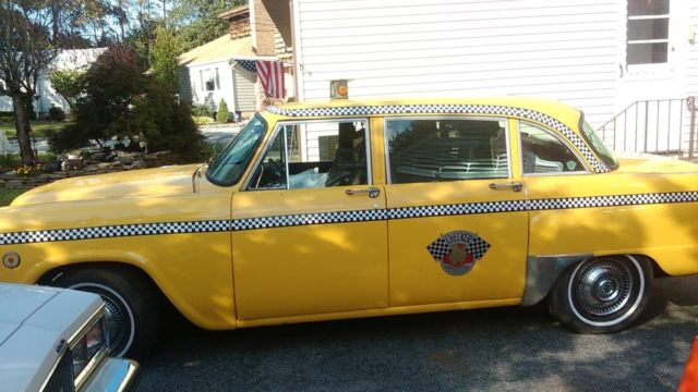 1974 checker marathon taxi cab for sale other makes 1974. Black Bedroom Furniture Sets. Home Design Ideas