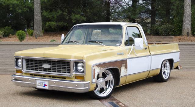 1974 chevrolet c10 shop truck silverado patina ls motor for sale chevrolet c 10 1974. Black Bedroom Furniture Sets. Home Design Ideas