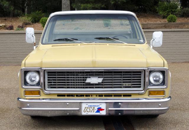 1974 chevrolet c10 shop truck silverado patina ls for C k motor car sales