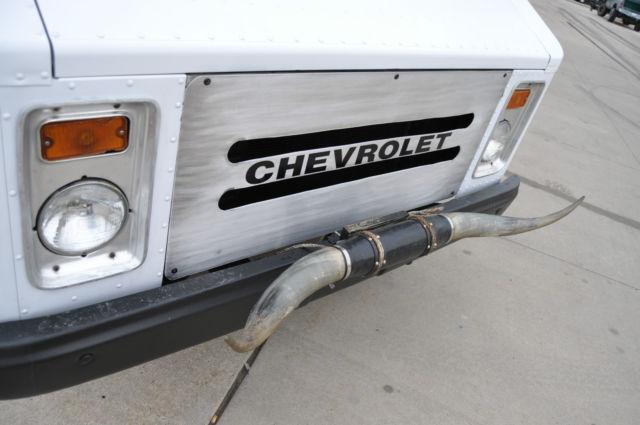 1974 Chevrolet P30 Step Van 80k Miles Aluminum Body...Bull ...