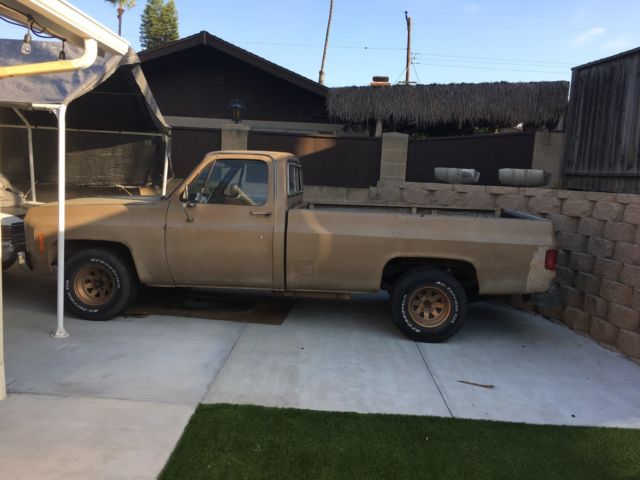 1974 chevy truck for sale chevrolet c 10 1974 for sale in la mesa california united states. Black Bedroom Furniture Sets. Home Design Ideas