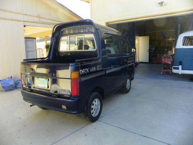 1974 daihatsu deck van hijet street legal japanese mini truck great behind rv for sale. Black Bedroom Furniture Sets. Home Design Ideas