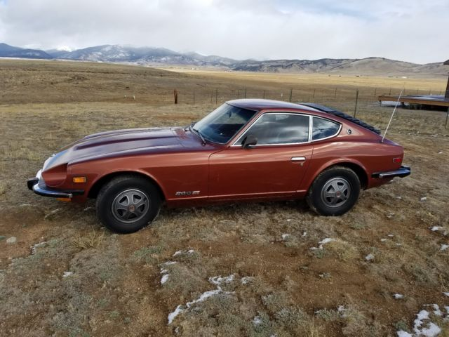1974 datsun 260z beautiful survivor car runs and drives perfectly for sale datsun z series. Black Bedroom Furniture Sets. Home Design Ideas
