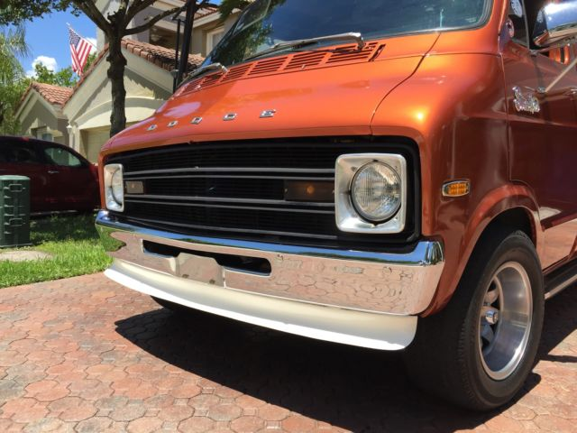 1974 Dodge B100 Shorty Street Van Tradesman 100 For Sale