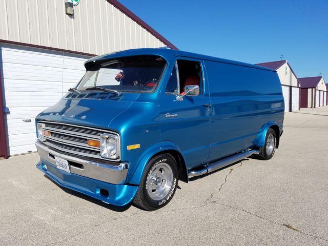 1974 dodge tradesman 100 custom van 88k mi survivor barn find 1 owner 70 39 s for sale dodge. Black Bedroom Furniture Sets. Home Design Ideas