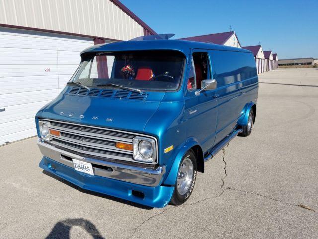 1974 Dodge Tradesman 100 Custom Van 88k Mi Survivor Barn