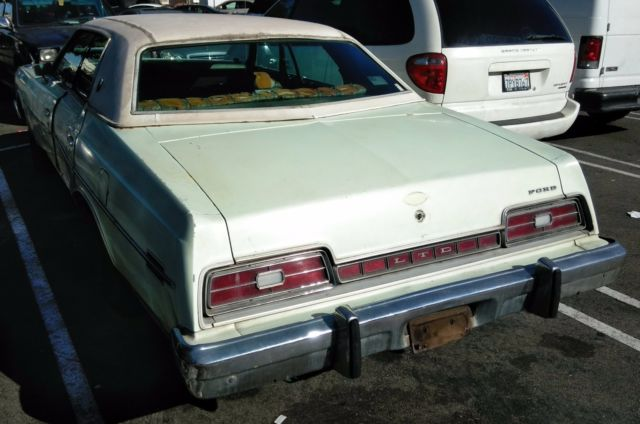 1974 Ford Ltd 4 Door Classic Runs Great But Needs Body Work For Sale Ford Other 1974 For