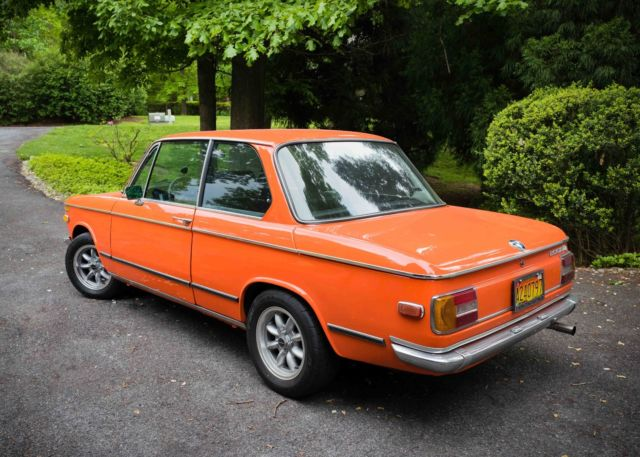 1974 inka orange bmw 2002tii for sale bmw 2002 2002tii. Black Bedroom Furniture Sets. Home Design Ideas