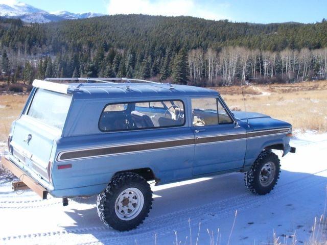 1974 Jeep Cherokee Fsj For Sale Jeep Cherokee 1974 For