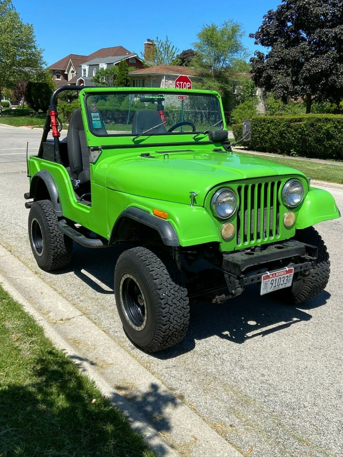 1974 Jeep Cj5 Base 5 0l 304 V8 3 Speed Running Project Low Reserve For Sale Jeep Cj 1974 For Sale In Niles Illinois United States