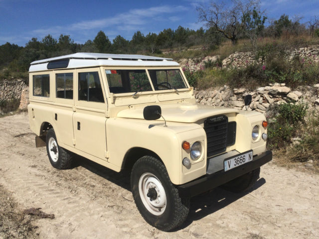 1974 land rover 109 santana series iii for sale land rover defender santana 1974 for sale in. Black Bedroom Furniture Sets. Home Design Ideas